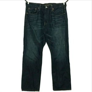 American Eagle Men's Relaxed Straight Jeans 38x31